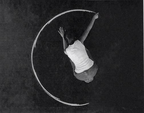 mano che disegna un cerchio